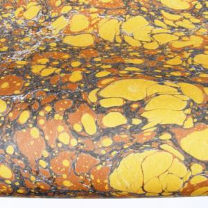 papier marmurkowy brązowy battal