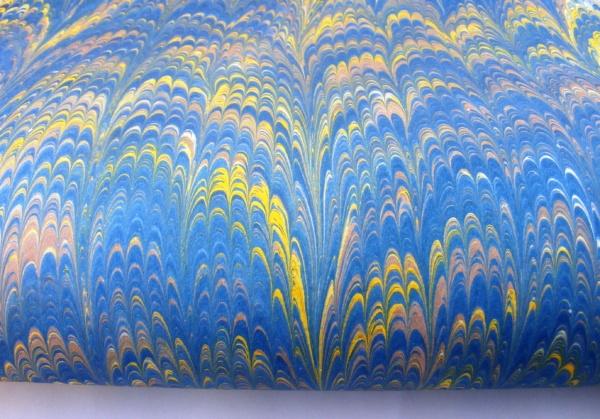papier marmurkowy fantazyjny