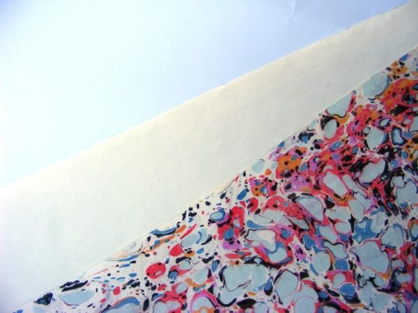 papier marmurkowy, papier introligatorski, papier marmoryzowany