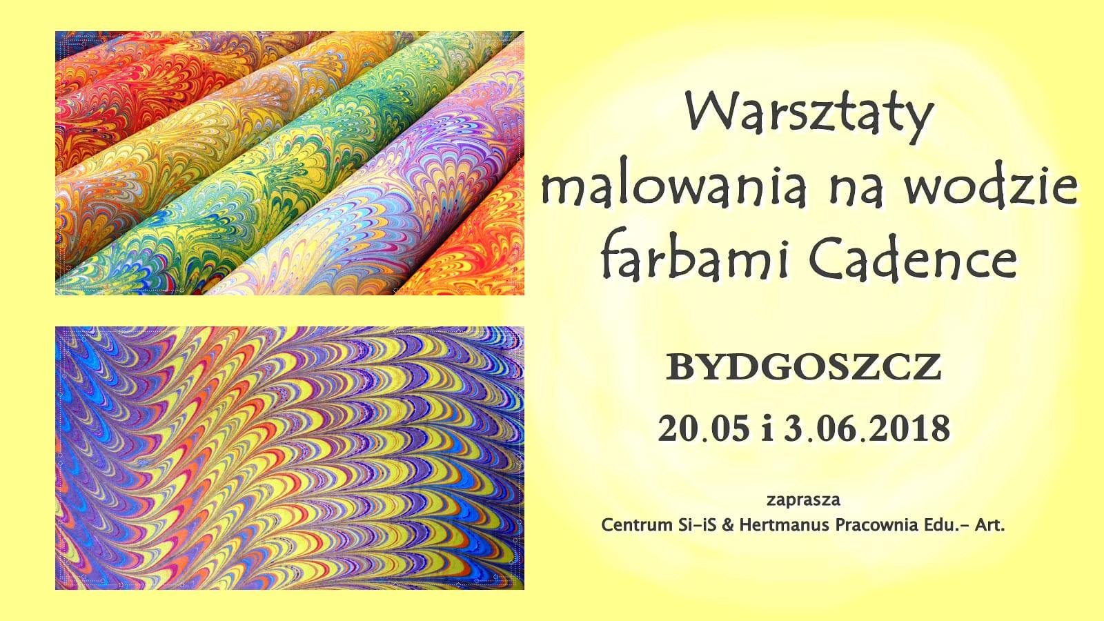 warsztaty ebru Bydgoszcz
