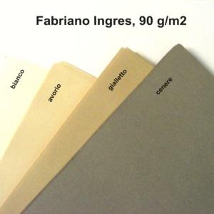 Papier Fabriano Ingres-kolory orientacyjne