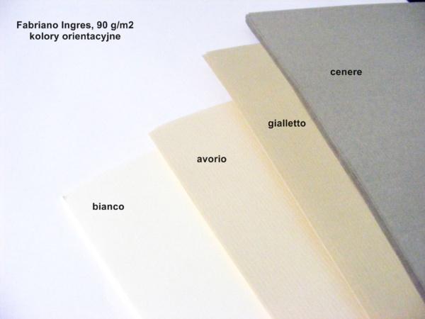 Papier Fabriano Ingres-kolory orientacyjne 4