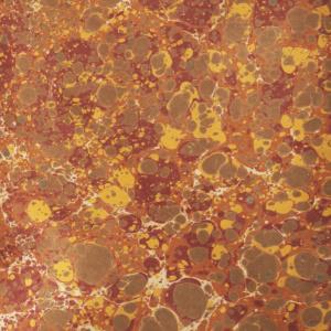 papier marmurkowy jesienny battal, papier marmoryzowany, papier introligatorski