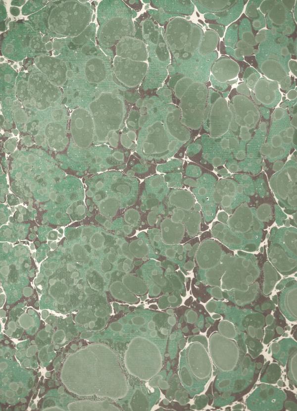 papier marmurkowy szaro-zielony butelkowy, papier marmoryzowany, papier introligatorski