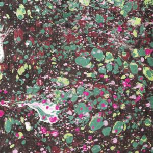 papier marmurkowy kolorowy ciemny battal