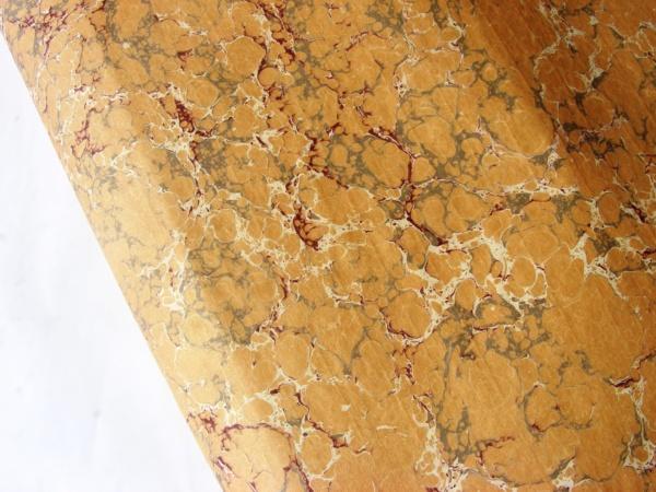papier marmurkowy piaskowy, papier introligatorski, papier marmoryzowany, papier marmurkowy malowany ręcznie na powierzchni wody, marbling art