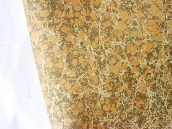 papier marmurkowy kremowy jasny, papier marmoryzowany, papier introligatorski