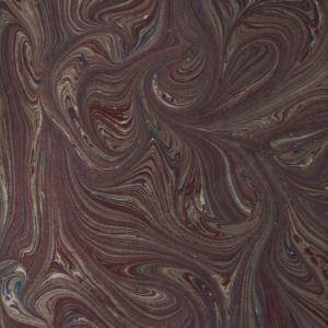 papier marmurkowy bordowe fale, papier marmoryzowany, papier marmurkowy malowany ręcznie na powierzchni wody, papier introligatorski, dla konserwatorów papieru, marbled paper