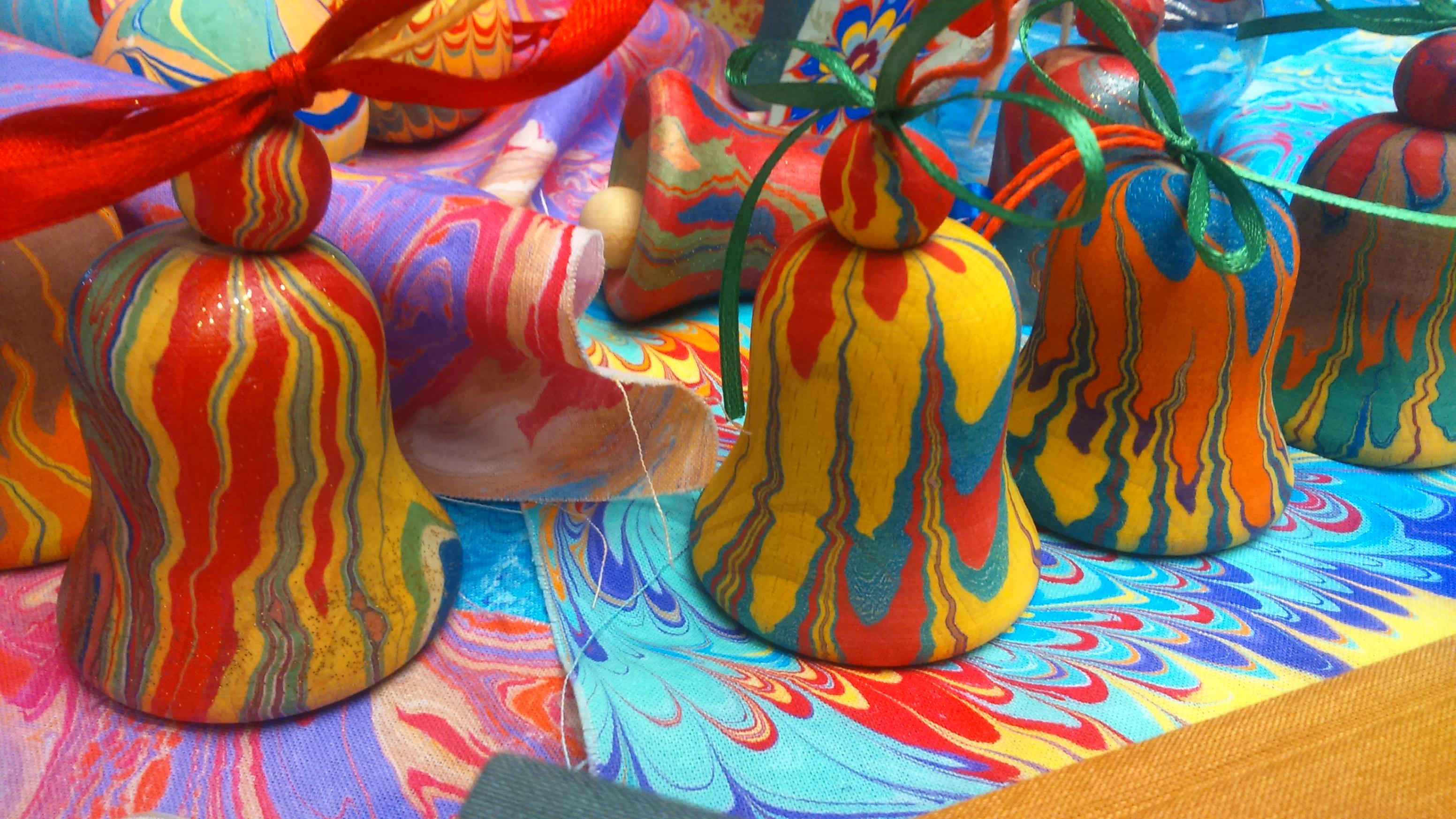 warsztaty malowania na wodzie- ebru