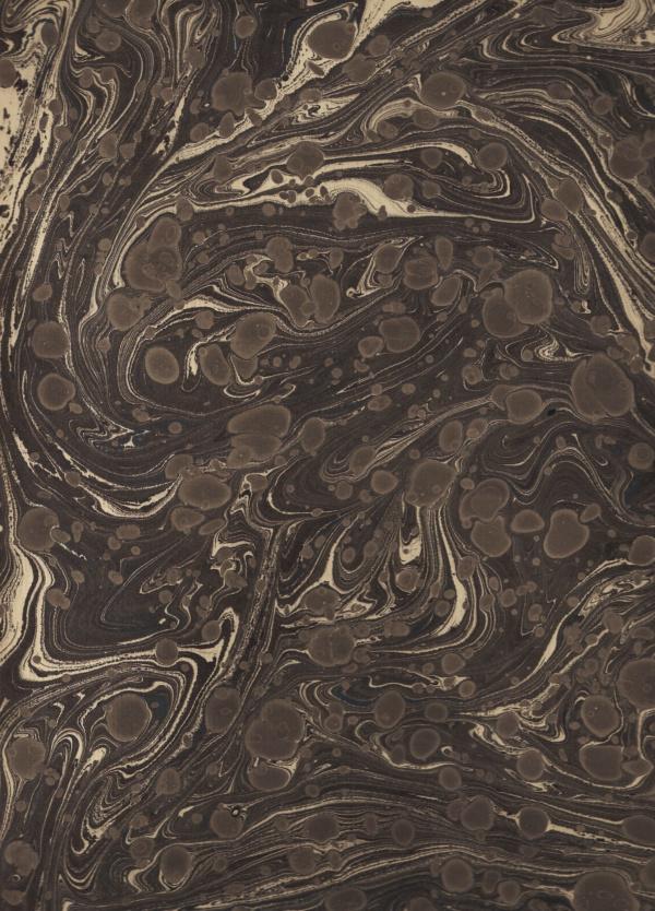 papier marmurkowy czarny fantazyjny, papier marmoryzowany, papier marmurkowy malowany ręcznie na powierzchni wody, papier introligatorski, dla konserwatorów papieru, hertmanus, marbled paper