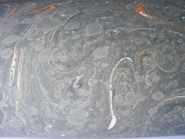 papier marmurkowy szary, papier marmoryzowany, papier marmurkowy malowany ręcznie na powierzchni wody, papier introligatorski, dla konserwatorów papieru, hertmanus, marbled paper