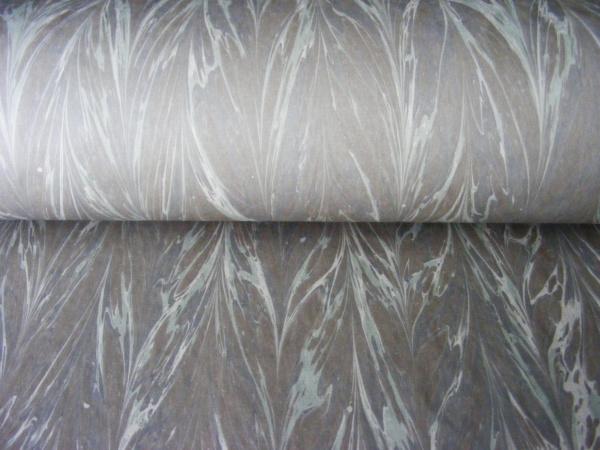 papier marmurkowy szary gelgit, papier marmoryzowany, papier marmurkowy malowany ręcznie na powierzchni wody, papier introligatorski, dla konserwatorów papieru, marbled paper
