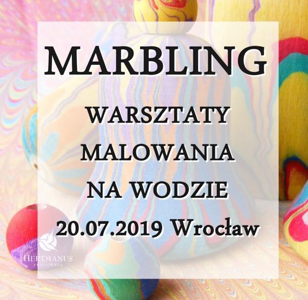 marbling warsztaty malowania na wodzie Wrocław