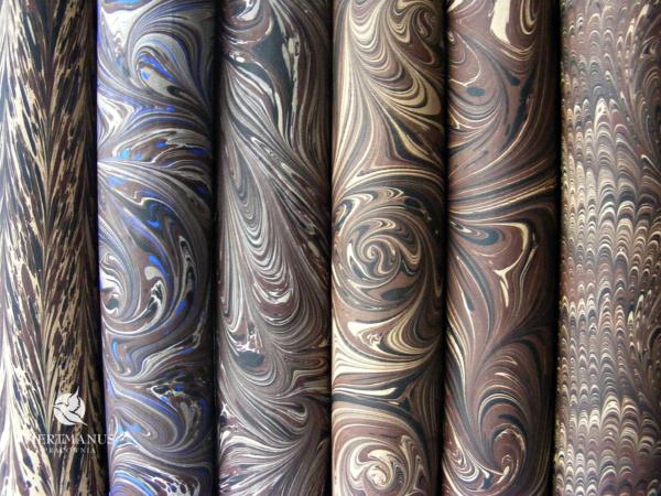 papier marmurkowy hertmanus, dla konserwatorów papieru i introligatorów