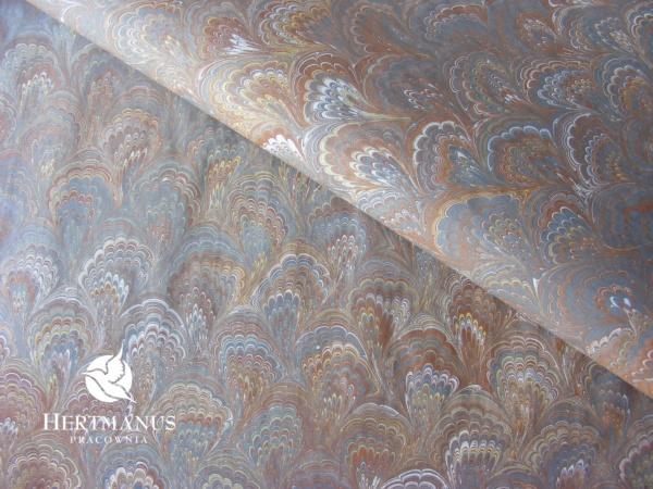 papier marmoryzowany, papier marmurkowy malowany ręcznie na powierzchni wody, papier introligatorski, dla konserwatorów papieru, hertmanus, marbled paper