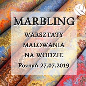 marbling warsztaty malowania na wodzie Poznań