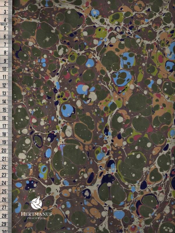 papier marmurkowy battal kolorowy, papier marmoryzowany, papier marmurkowy malowany ręcznie na powierzchni wody, papier introligatorski, dla konserwatorów papieru, hertmanus, marbled paper