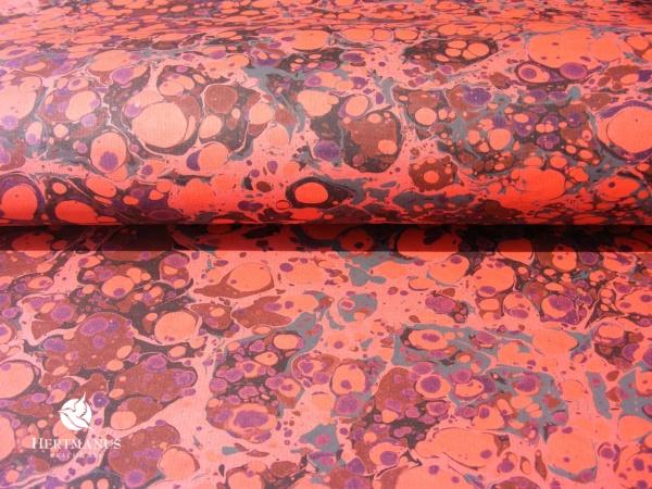 papier marmurkowy rosso battal, papier marmoryzowany, papier marmurkowy malowany ręcznie na powierzchni wody, papier introligatorski, dla konserwatorów papieru, hertmanus, marbled paper