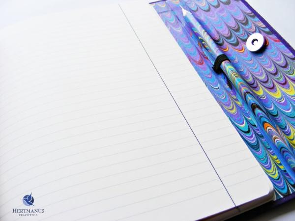 Notes Fioletowa Sowa, hertmanus