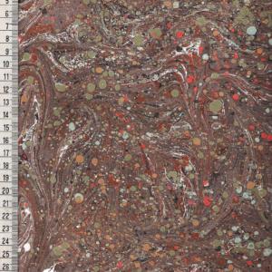 papier marmurkowy szarobrązowy drobny, papier marmoryzowany, papier marmurkowy malowany ręcznie na powierzchni wody, papier introligatorski, dla konserwatorów papieru, hertmanus, marbled paper