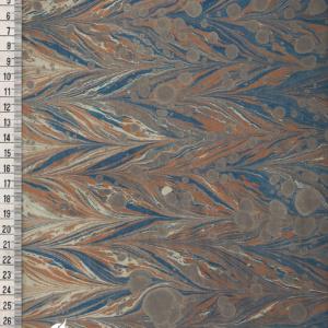 papier marmurkowy szaro-granatowy gelgit, papier marmoryzowany, papier marmurkowy malowany ręcznie na powierzchni wody, papier introligatorski, dla konserwatorów papieru, hertmanus, marbled paper