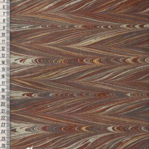 papier marmurkowy szaro-brązowy gelgit 2, papier marmoryzowany, papier marmurkowy malowany ręcznie na powierzchni wody, papier introligatorski, dla konserwatorów papieru, hertmanus, marbled paper