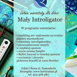mały introligator- letnie warsztaty dla dzieci