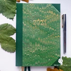 Kalendarz Retro Leśna Zieleń na 2021 rok