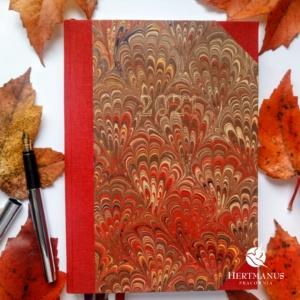 Kalendarz Retro Czerwony Bouquet na 2021 rok